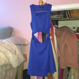 Royal Blue Dress- SM